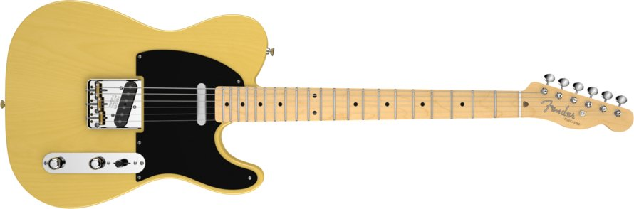 Butterscotch Blonde Electric Guitar with Deluxe Vintage Tweed Case
