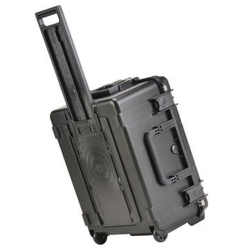 "22"" L x 17"" W x 10"" D Mil-Std Waterproof Case with Wheels, Pull Handle, & Cubed Foam"