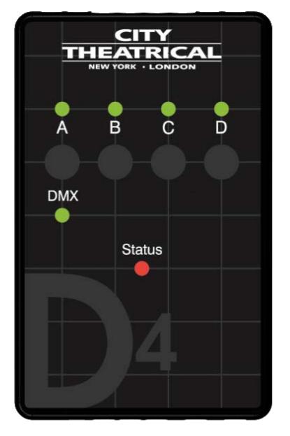SHoW DMX D4 Dimmer