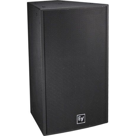 "15"" Two-Way Full-Range Weatherized Loudspeaker with 40 x 30 Degree Dispersion, Black"