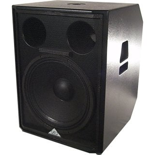 "18"" 1000 Watts @ 8 Ohm Subwoofer with Handles and Pole Mount"
