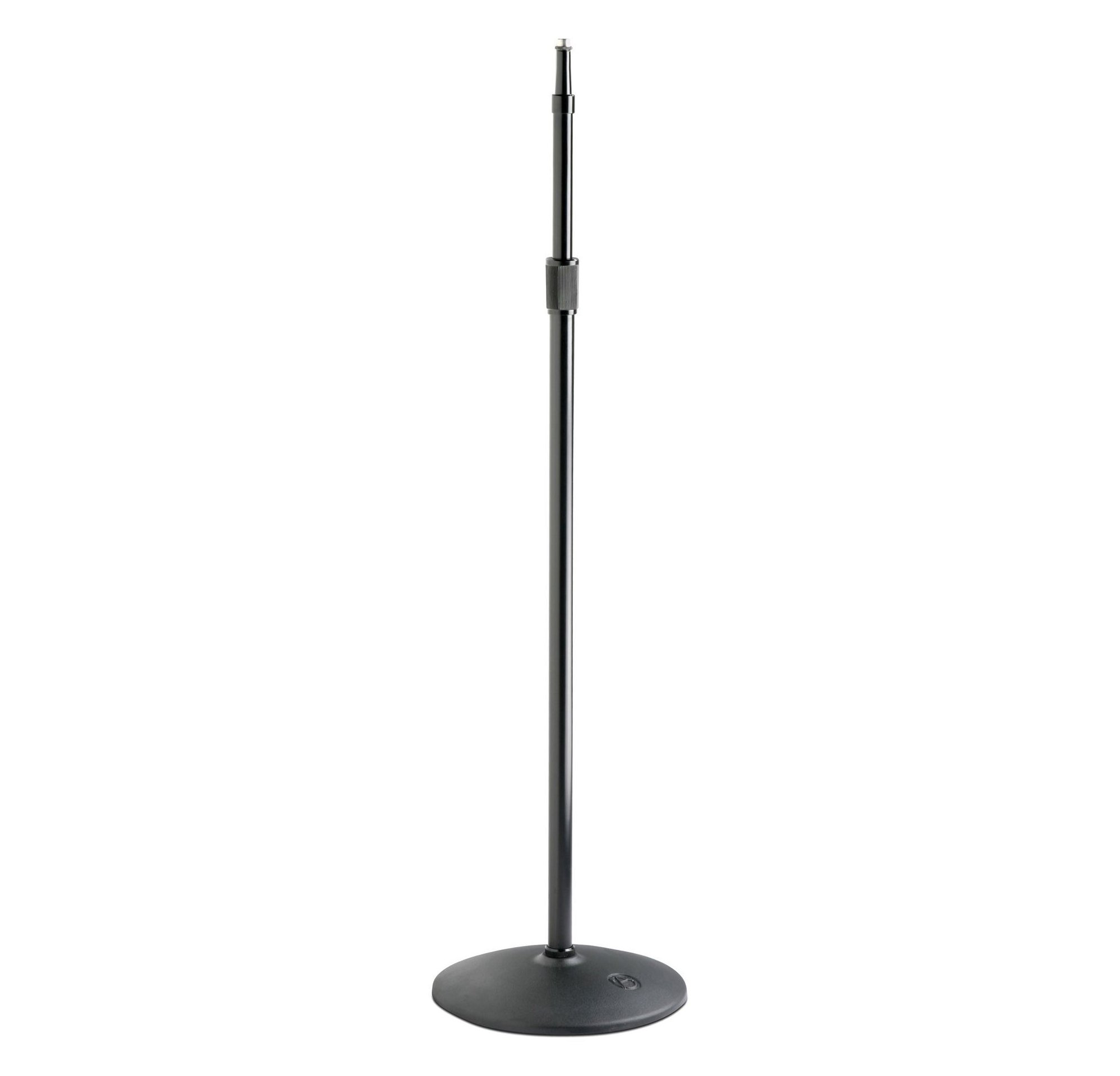 "37"" - 66"" Heavy-Duty Ebony Microphone Stand"