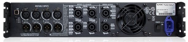 QSC PLD4.5-NA 4-Channel 1150W @ 4 Ohms Power Amplifier PLD4.5-NA