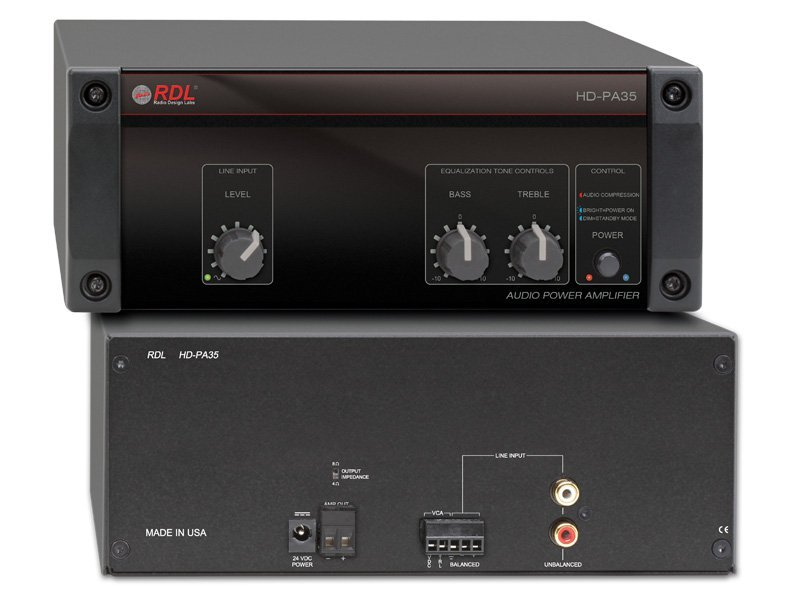 Radio Design Labs HD-PA35 35 Watt 4/8 Ohm Power Amplifier HD-PA35