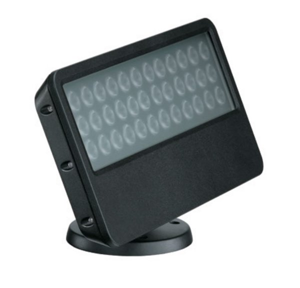 50W ColorBlast Powercore LED Wash Fixture in Black