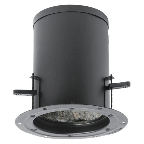 "7-5/8"" D Recessed Enclosure with Dog Legs for 4"" Strategy Series Loudspeakers without Knockouts"