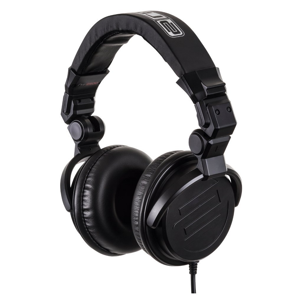 Reloop RH-2500 On-Ear Headphones in Black RH-2500
