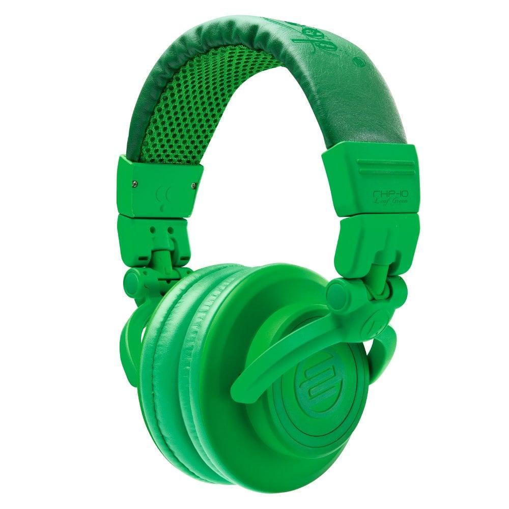 On-Ear Headphones Glow in the Dark Green