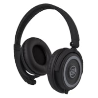 On-Ear DJ Headphones in Black