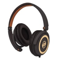 On-Ear DJ Headphones in Chocolate Crown