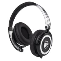 On-Ear DJ Headphones in Solid Chrome