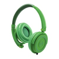 Headphones, On-Ear, Green