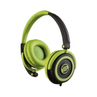 Headphones, On-Ear,Green/Black