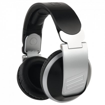 Over-Ear DJ Headphones in Silver
