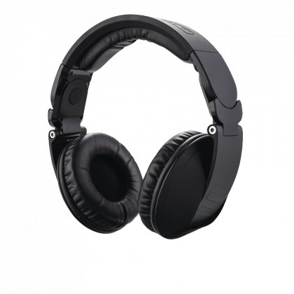 Over-Ear DJ Headphones in Black