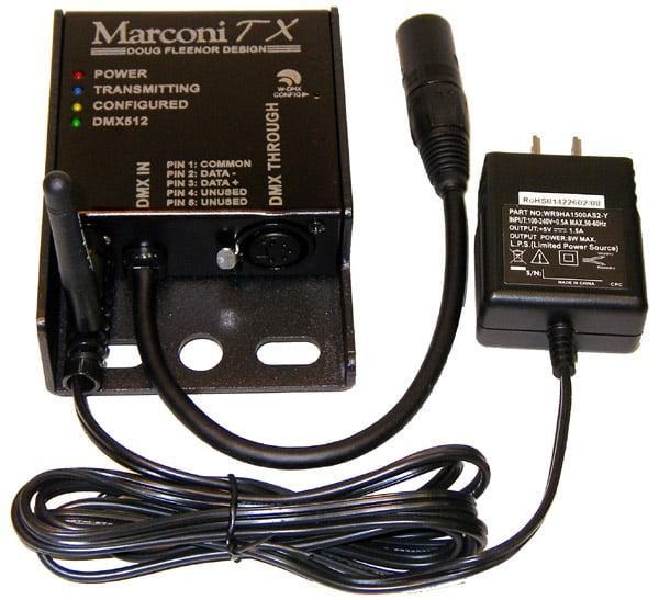 5-Pin Wireless DMX512 Transmitter
