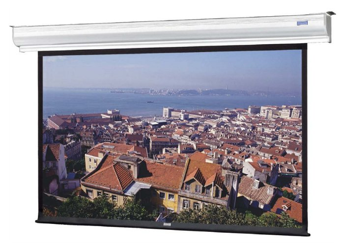"58"" x 104"" Contour® Electrol® HDTV Format Screen with Matte White Surface"
