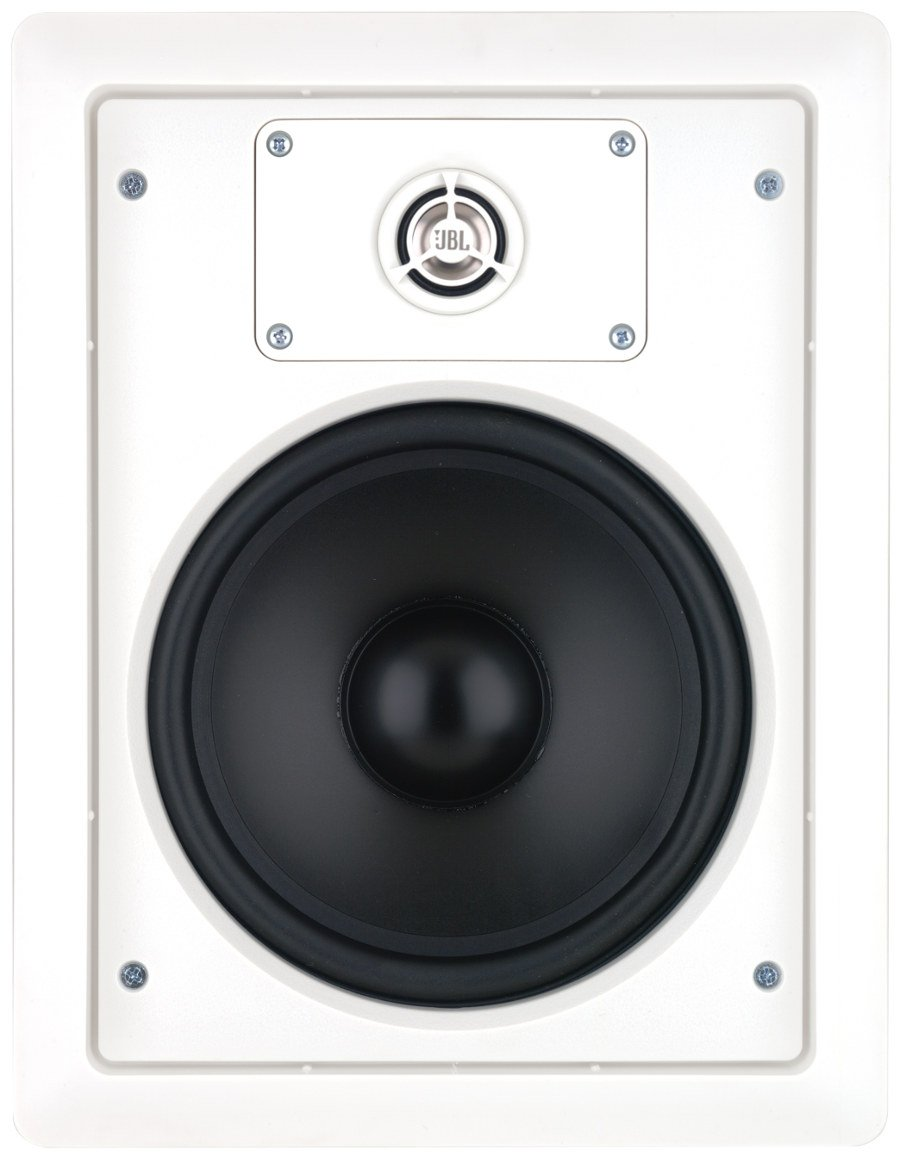 "8"" 2 Way In-Wall Loudspeaker in White with 70/100V Transformer"