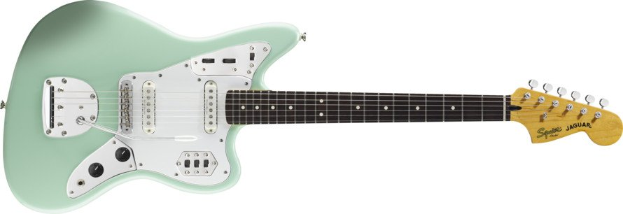 Surf Green Electric Guitar with Duncan Designed Pickups™