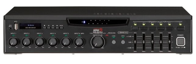 240-Watt Mixer Amplifier with Built in MP3 Player and USB