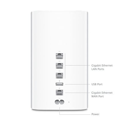 2TB Airport Time Capsule Wireless Backup Solution
