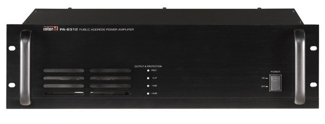 120-Watt 4 Ohm and 70V Commercial PA Amplifier