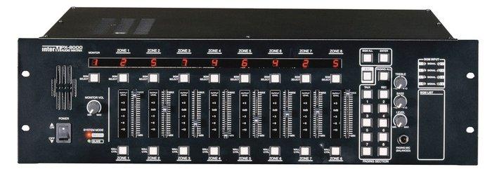 8x8 Audio Matrix Mixer/Controller