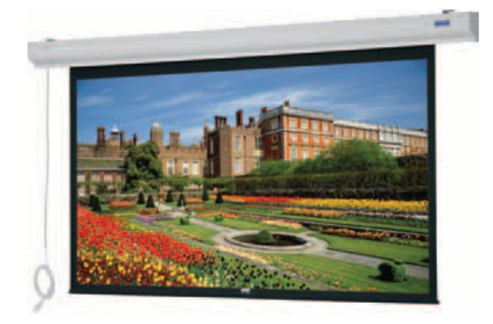 "Da-Lite 89758W  52"" x 92"" Designer Contour® Electrol® with Integrated Infrared Remote - HDTV Format 89758W"