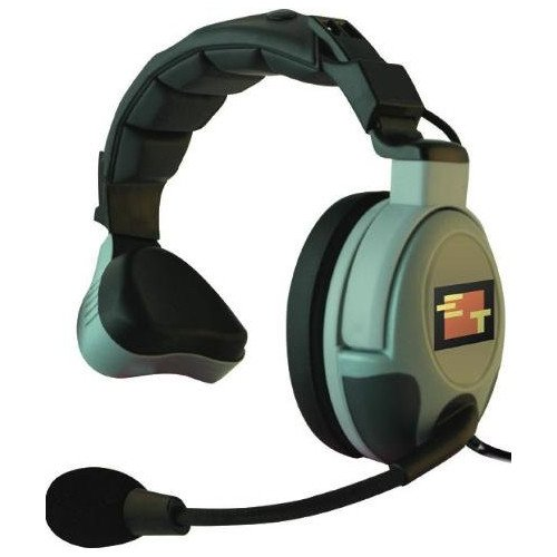 Max 3G Single Muff Wired Headset with Microphone