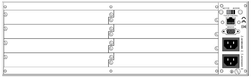 16x16 Input to Output Modular Video Matrix Switcher