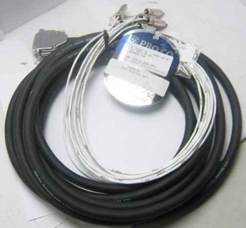 20 ft. DB25 to RCA-M Cable