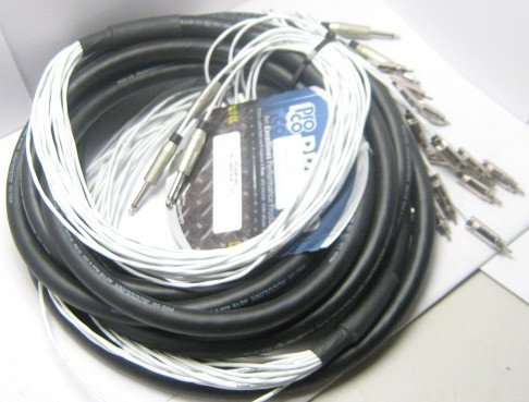 "10 ft. 16 Channel 1/4"" TS Fan to RCA Fan Snake"