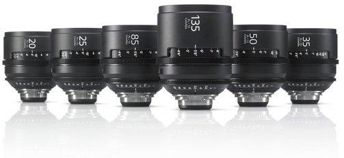 PL Mount Lenses - 6 Lens Kit