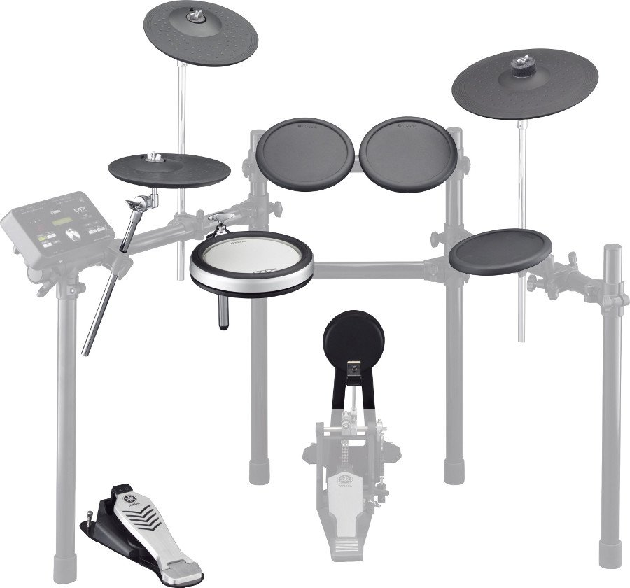 Drum/Cymbal Pad Set for DTX522