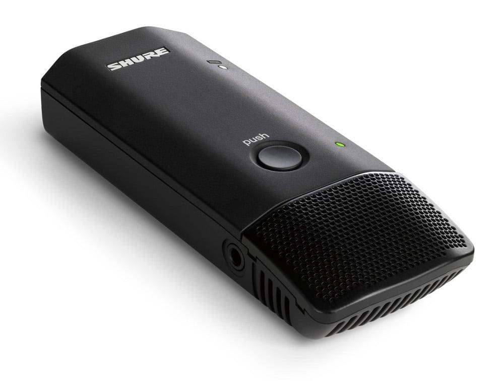 Shure MXW6/O Microflex Wireless Omnidirectional Boundary Transmitter MXW6/O