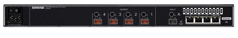 Microflex Wireless 4-Channel Audio Network Interface