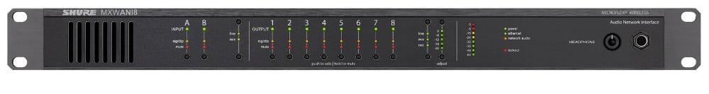 Microflex Wireless 8-Channel Audio Network Interface