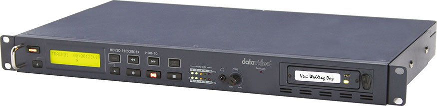 HD/SD-SDI Hard Drive Video Recorder