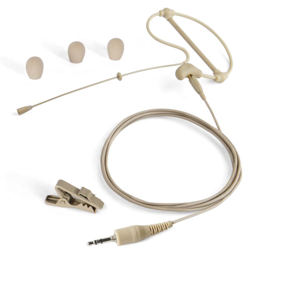 Omnidirectional Headset Microphone in Beige