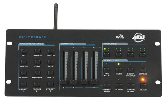 64-Channel DMX Controller with WiFLY Transceiver