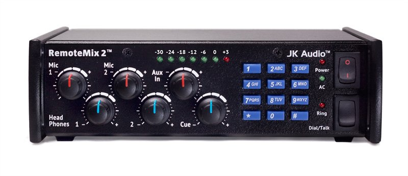2-Channel Broadcast Field Mixer