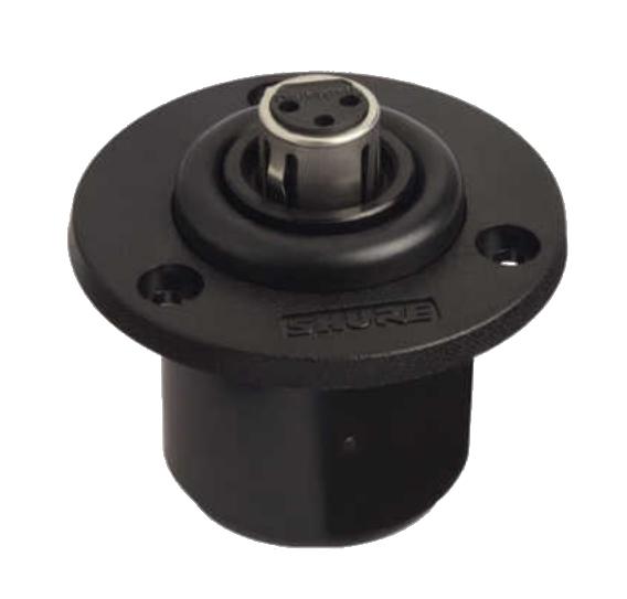 Microphone Shock Mount w/ XLR Connector Insert
