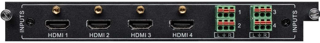 4-Port HDMI Input Card for FLX-88, FLX-1616, FLX-3232
