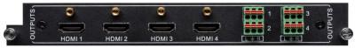 4-Port HDMI Output Card for FLX-88, FLX-1616, FLX-3232