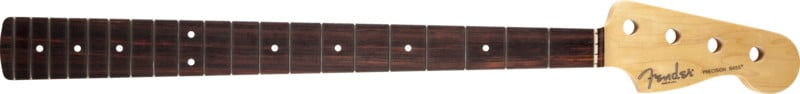 20-Fret Electric Bass Neck with Rosewood Fretboard