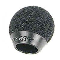 12-pack of Black Foam Urethane Windscreens for ECM44 Microphones
