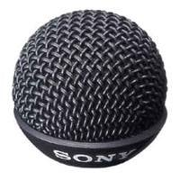 6-Pack of Black Metal Windscreens for ECM55 Microphones
