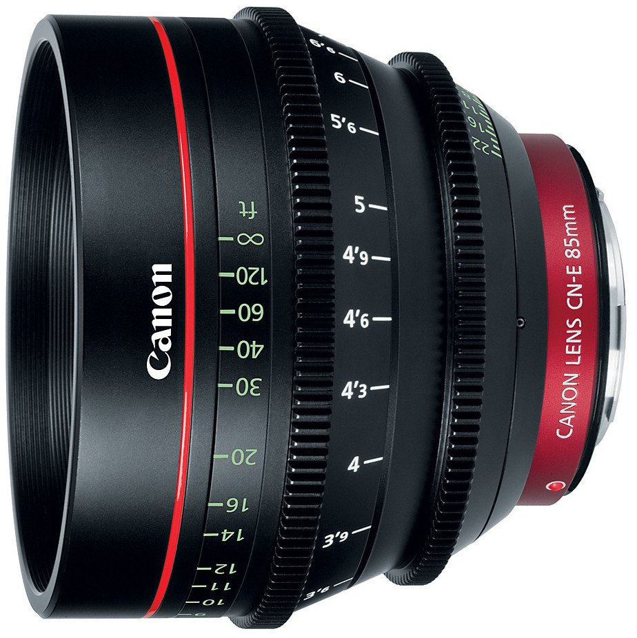 Cinema Prime CN-E85mm T1.3 L F EF Mount Lens