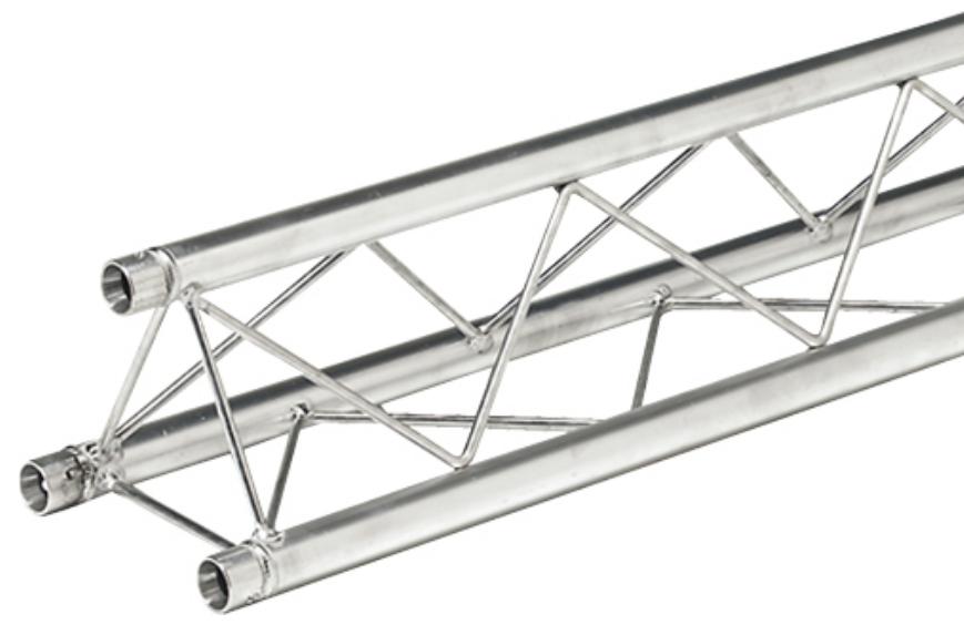 Global Truss TR-96105 8.2 ft. Mini Triangular Truss Straight Segment TR96105