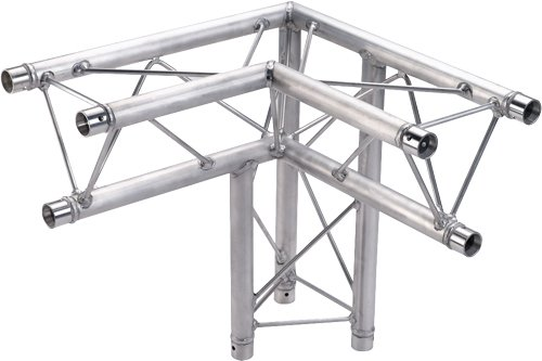 1.64 ft (0.5m) 3-Way 90° Right Corner Triangular Apex